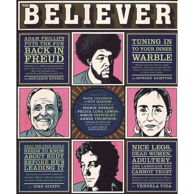 Believer Vol. 1 No. 5, Issue No 005 (August 2003) On Time, All the Time