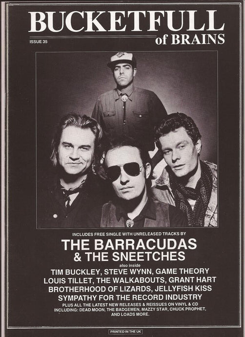Bucketfull of Brains Issue 035; The Barracudas, The Sneetches