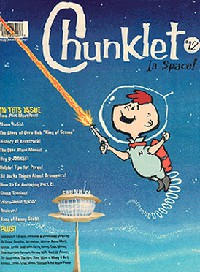 Chunklet Issue 12 (In Space!), Money Shot