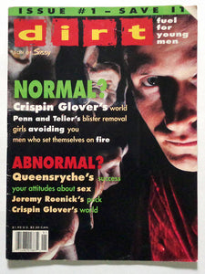 Dirt Issue 01 Spring 1992 (Crispin Glover)