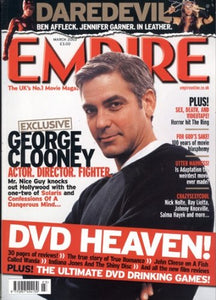 Empire Magazine Issue 165 (March 2003) - George Clooney