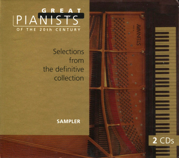 Various - Great Pianists Of The 20th Century: Sampler