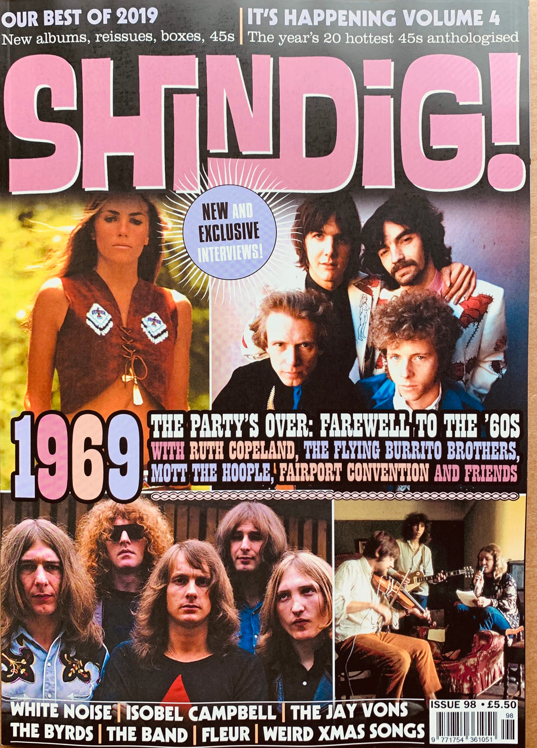 Shindig! Magazine Issue 098 (December 2019)