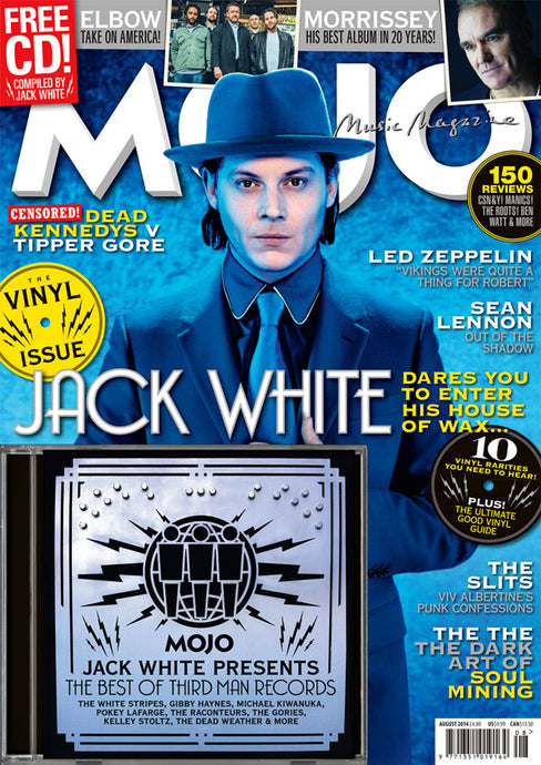 Mojo Magazine Issue 249 (August 2014) - Jack White