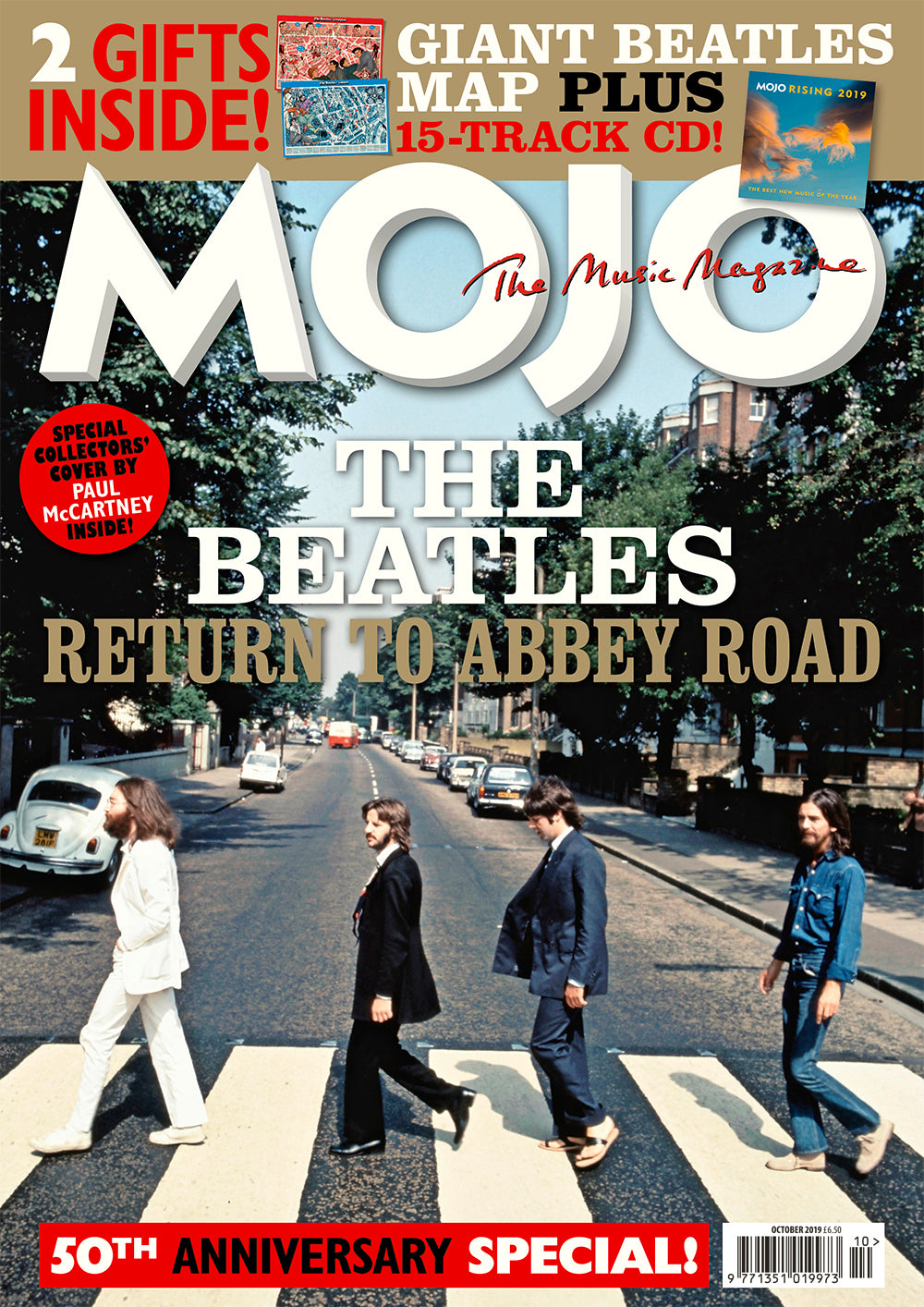 Mojo Magazine Issue 311 (October 2019)