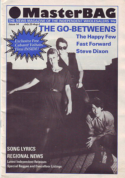 MasterBAG Magazine Issue 14 (The Go-Betweens)