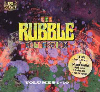 Various - The Rubble Collection Volumes 1-10