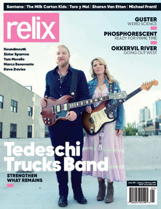 Relix Magazine Issue 293 (January-February 2019) (Tedeschi Trucks Band)