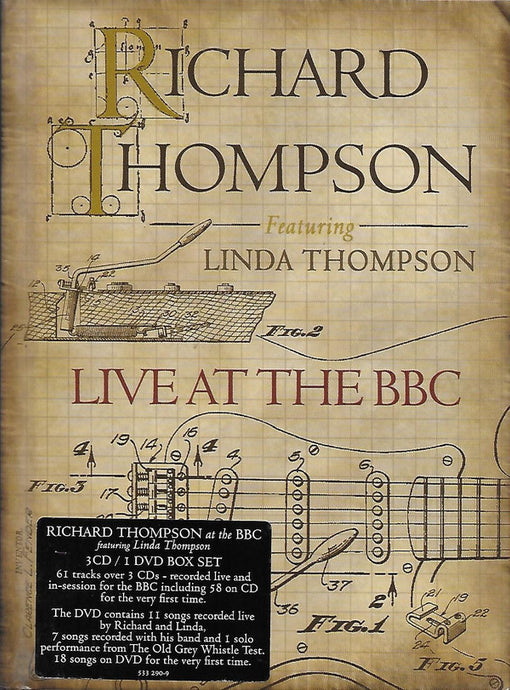 Richard Thompson Featuring Linda Thompson - Live At The BBC