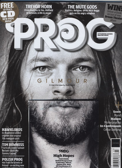 Prog Magazine Issue 096 (March 2019) - David Gilmour