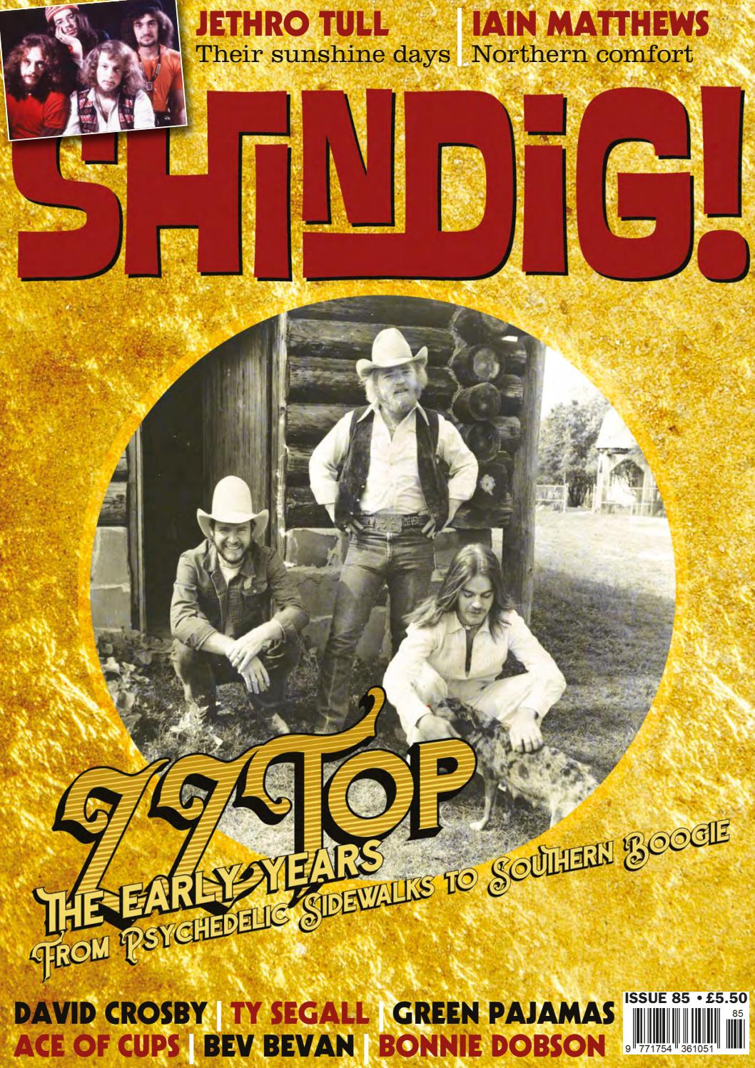 Shindig! Magazine Issue 085 (November 2018) - ZZ Top