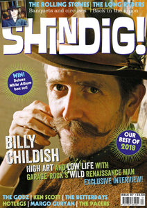 Shindig! Magazine Issue 087 (January 2019) - Billy Childish