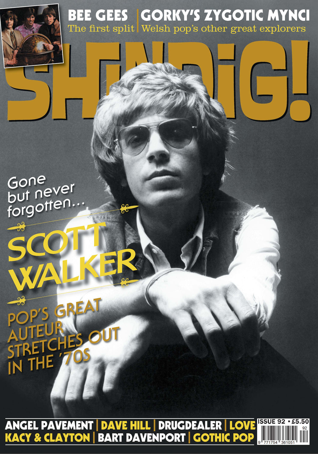 Shindig! Magazine Issue 092 (June 2019) - Scott Walker