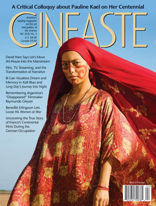 Cineaste Vol XLIV No 3 (Summer 2019)