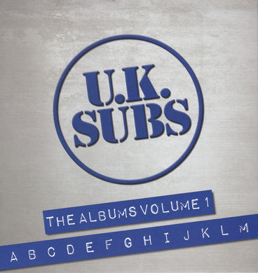 UK Subs - The Albums Volume 1 A-M