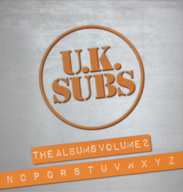 UK Subs - The Albums Volume 2 N-Z