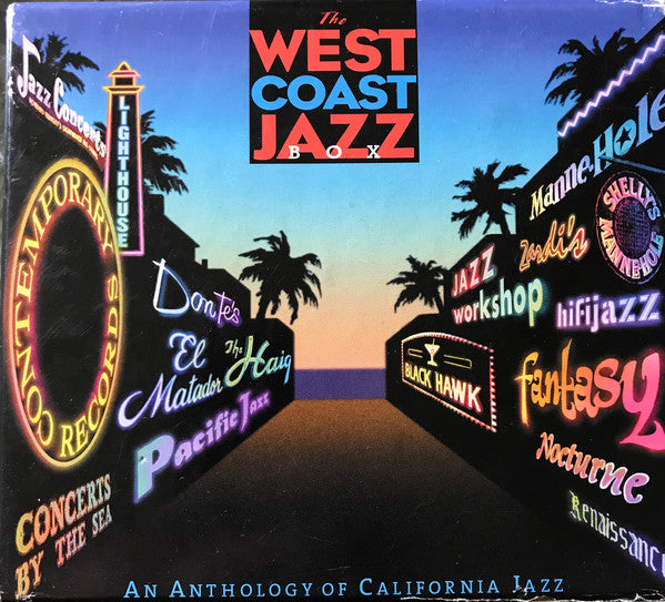 Various - The West Coast Jazz Box