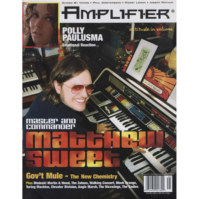 Amplifier Issue 45 (Nov-Dec 2004) (Matthew Sweet)
