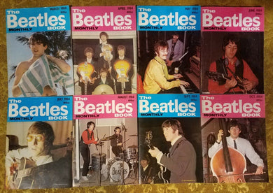 The Beatles Book Monthly (9 Random Issues)