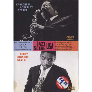 Cannonball Adderley Sextet, Teddy Edwards Sextet - Jazz Scene USA