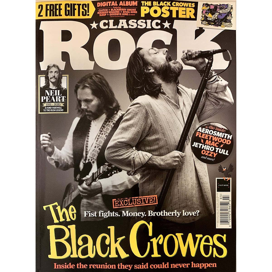 Classic Rock Issue 272 (March 2020) - Black Crowes