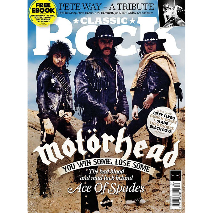 Classic Rock Issue 280 (October 2020) - Motorhead