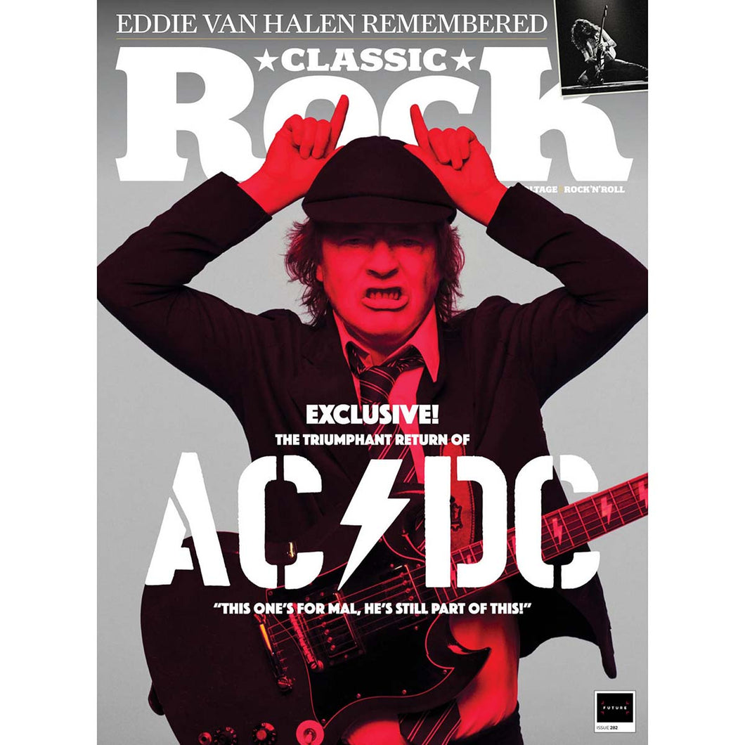 Classic Rock Issue 282 (December 2020) AC/DC