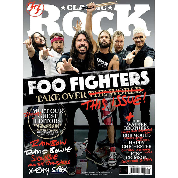 Classic Rock Issue 284 (February 2021) Foo Fighters