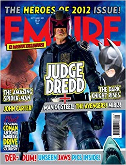 Empire Magazine Issue 267 (September 2011) Judge Dredd
