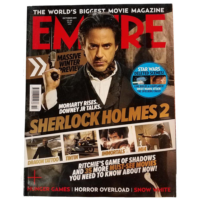 Empire Magazine Issue 268 (October 2011) Sherlock Holmes 2