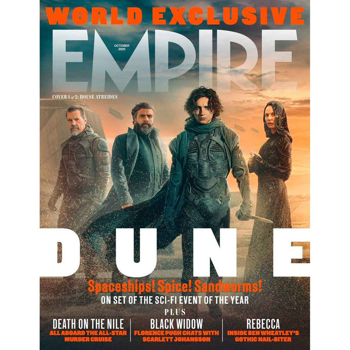 Empire Magazine Issue 380 (October 2020) - Dune