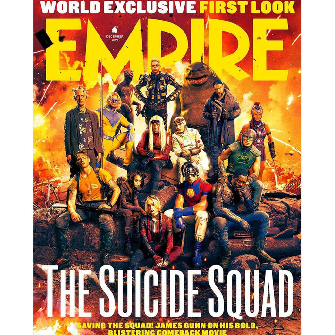 Empire Magazine Issue 382 (December 2020) Suicide Squad