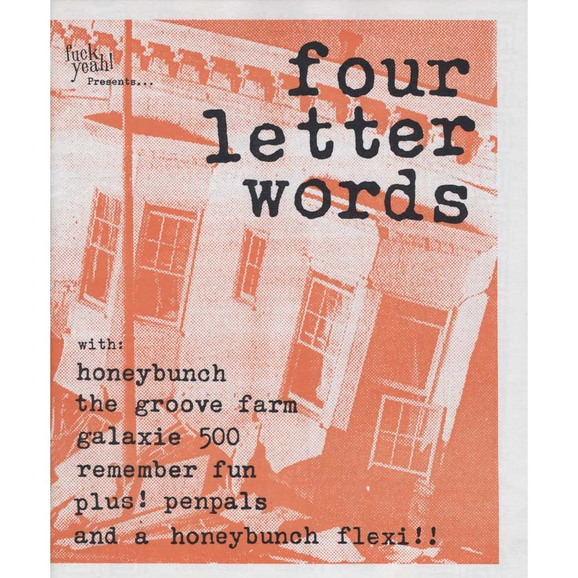 Four Letter Words 'Zine Issue 01