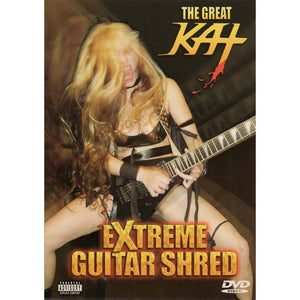 Great Kat - Extreme Guitar Shred (DVD)