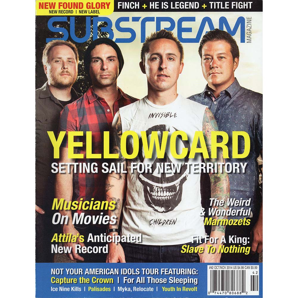 Substream Magazine #42 (Oct/Nov 2014)