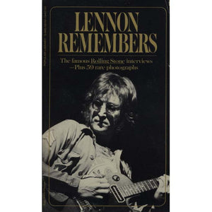 Lennon Remembers:The Rolling Stone Interviews (Wenner, Jann)