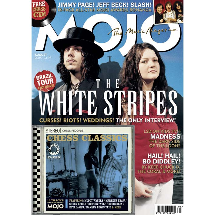 Mojo Magazine Issue 141 (August 2005) - White Stripes