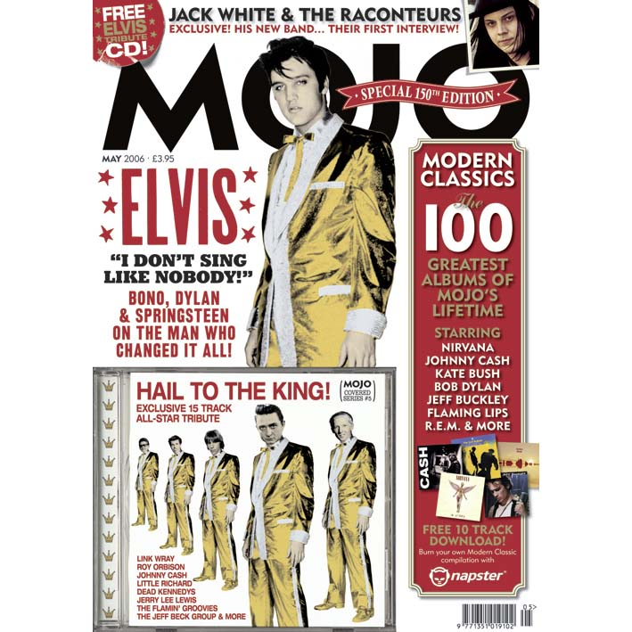 Mojo Magazine Issue 150 (May 2006) - Elvis Presley