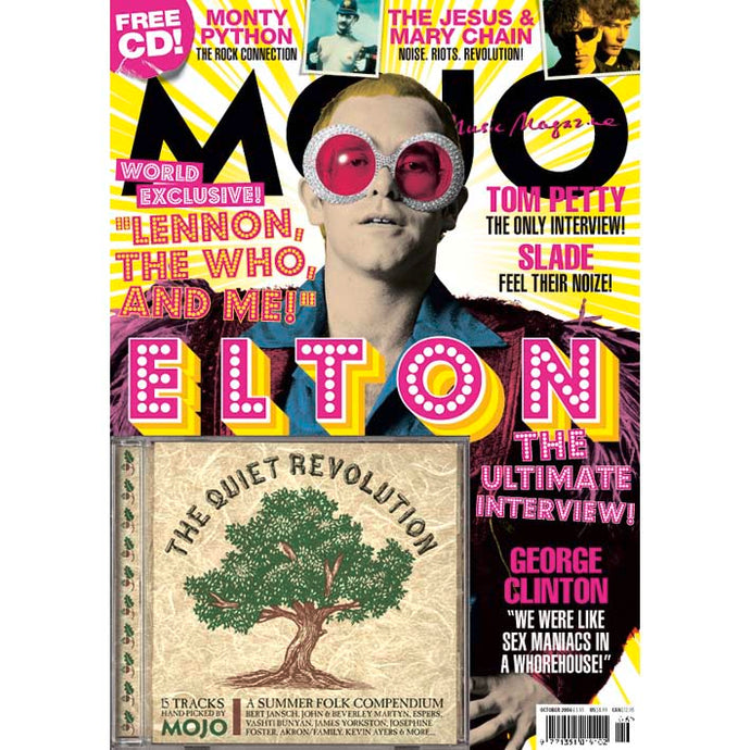 Mojo Magazine Issue 155 (October 2006) - Elton John