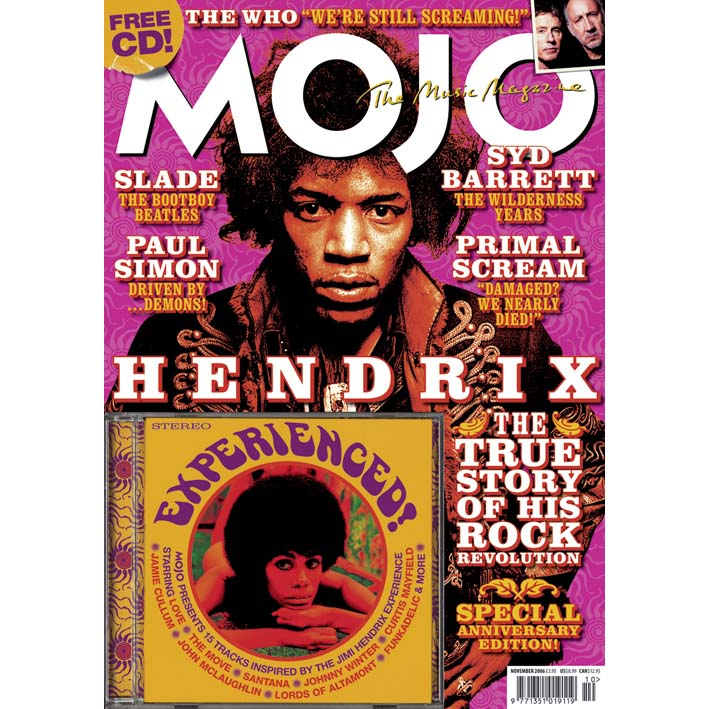 Mojo Magazine Issue 156 (November 2006) - Jimi Hendrix
