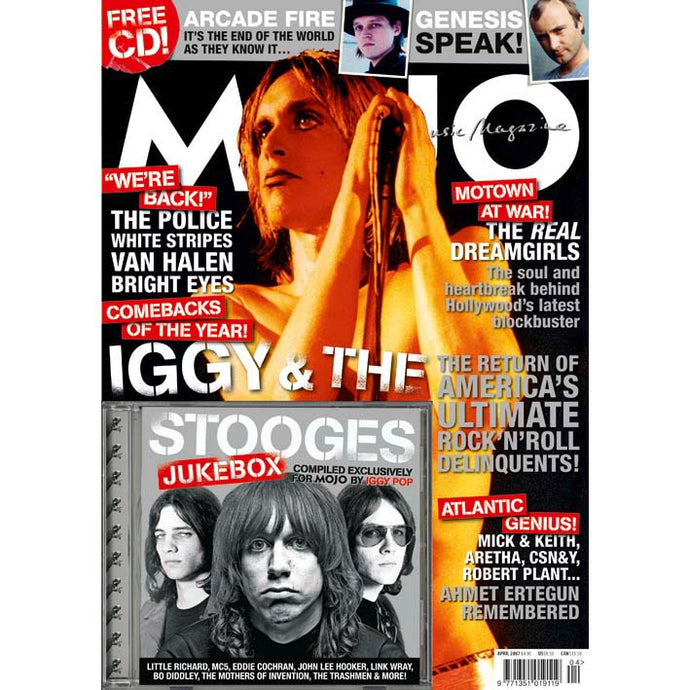 Mojo Magazine Issue 161 (April 2007) - Iggy & the Stooges