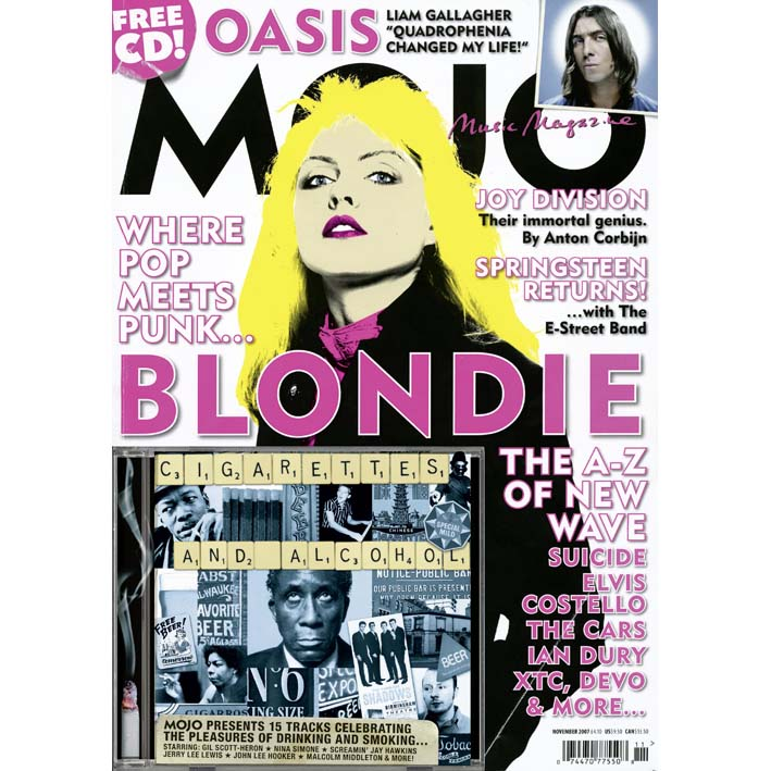 Mojo Magazine Issue 168 (November 2007) - Blondie