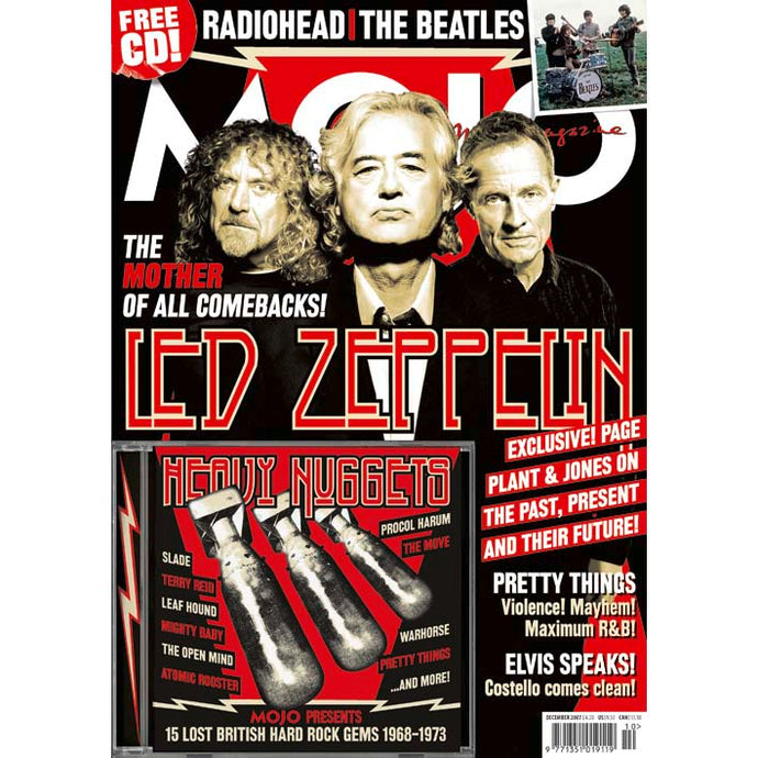 Mojo Magazine Issue 169 (December 2007) - Led Zeppelin