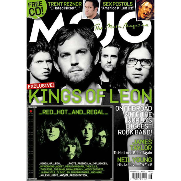 Mojo Magazine Issue 188 (July 2009) Kings of Leon