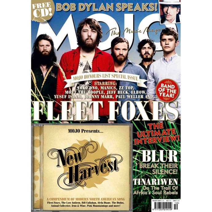 Mojo Magazine Issue 189 (August 2009) - Fleet Foxes