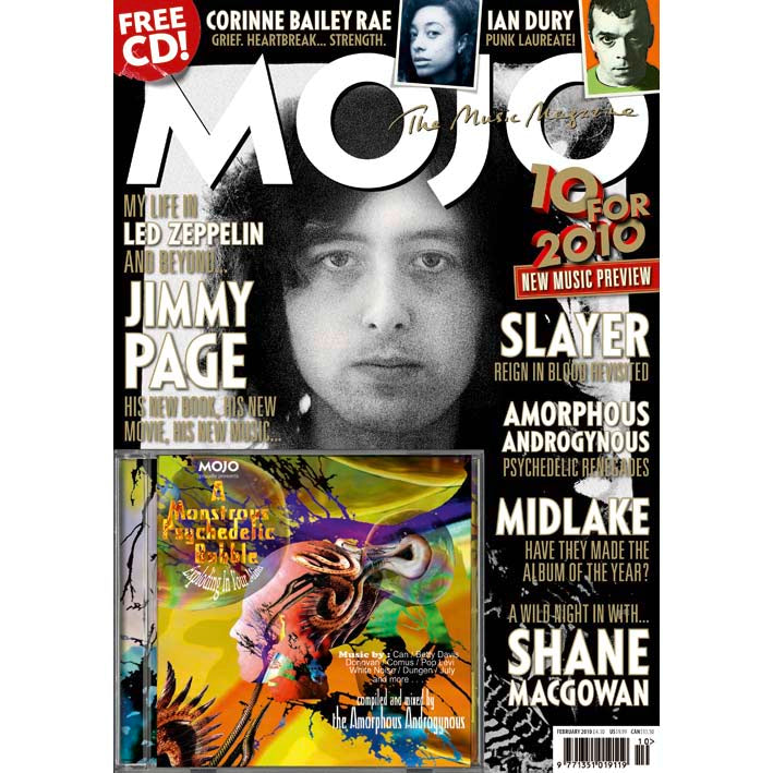 Mojo Magazine Issue 195 (February 2010) - Jimmy Page