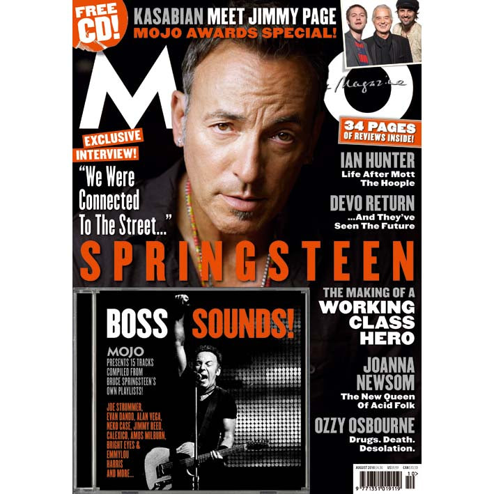 Mojo Magazine Issue 201 (August 2010) - Bruce Sprinsteen