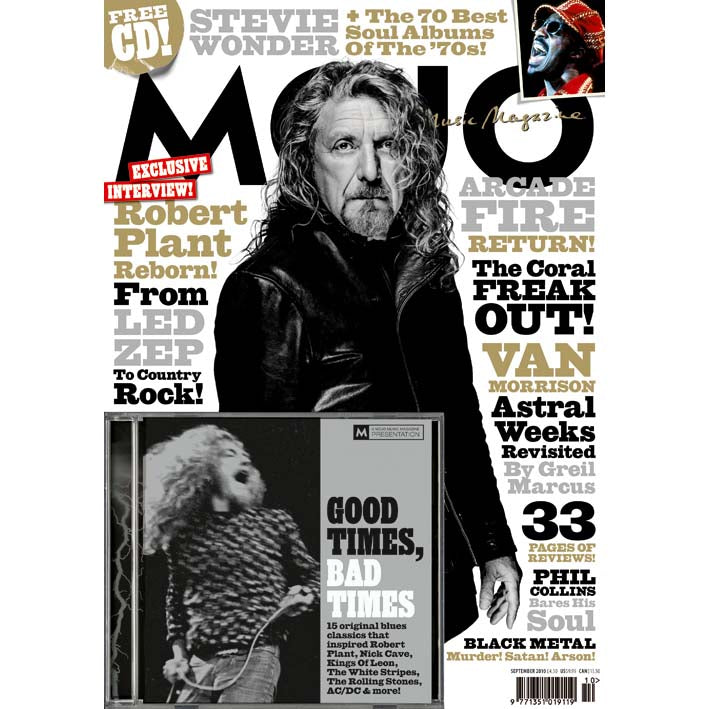 Mojo Magazine Issue 202 (September 2010) - Robert Plant