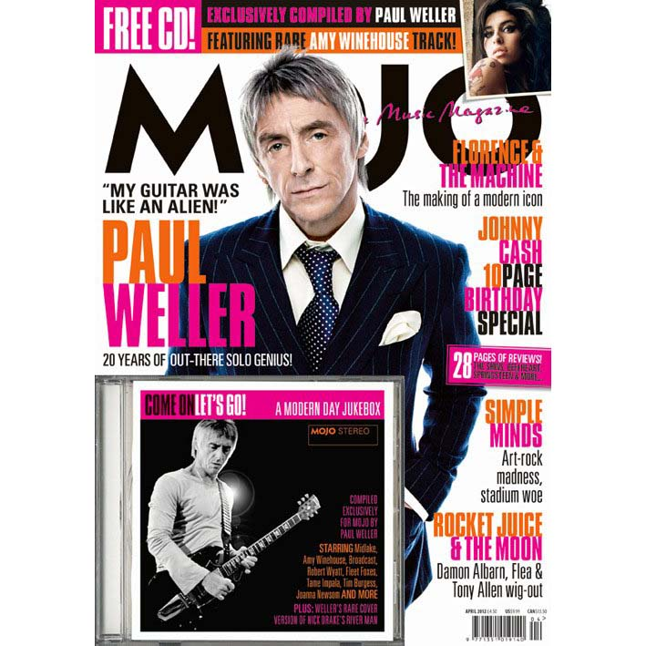 Mojo Magazine Issue 221 (April 2012) - Paul Weller/The Jam