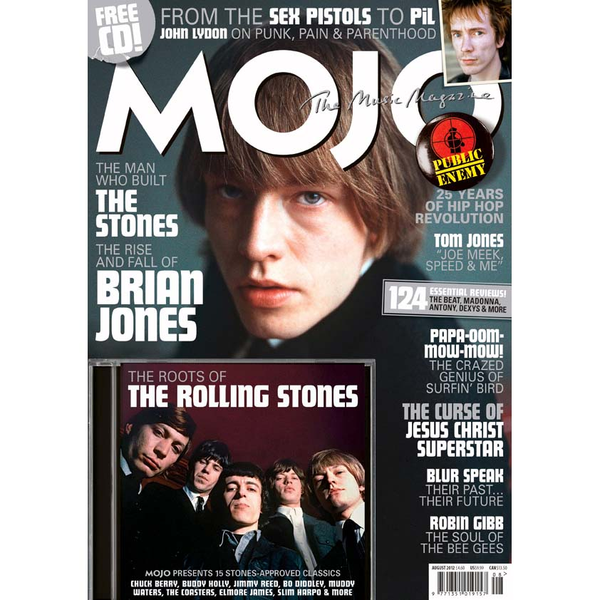 Mojo Magazine Issue 225 (August 2012) - Brian Jones